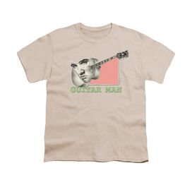 ELVIS PRESLEY GUITAR MAN - S/S YOUTH 18/1 - CREAM T-Shirt