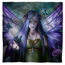 Anne Stokes Mystic Aura Bandana White