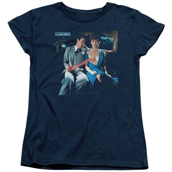 Scorpions Lovedrive Short Sleeve Womens Tee T-Shirt