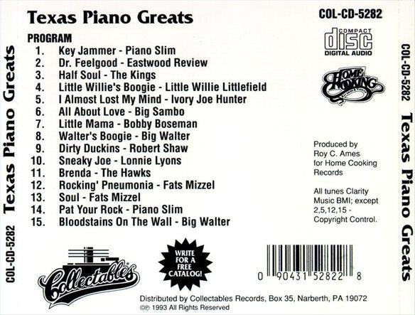 Texas Piano Greats 0993