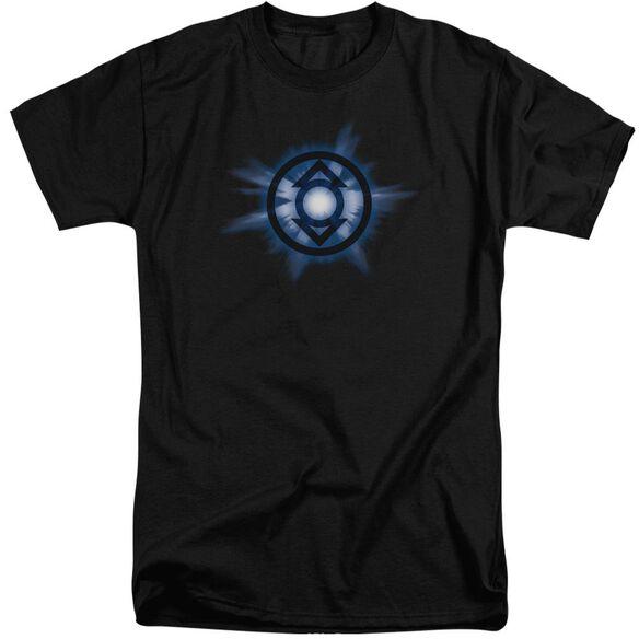 Green Lantern Indigo Glow Short Sleeve Adult Tall T-Shirt