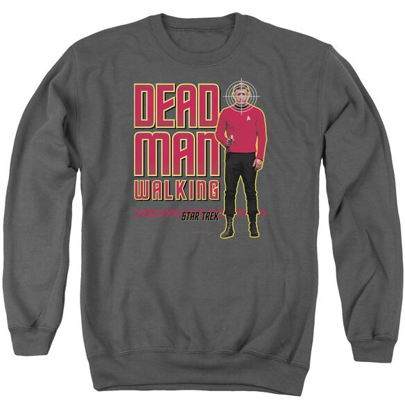 Star Trek Dead Man Walking Adult Crewneck Sweatshirt