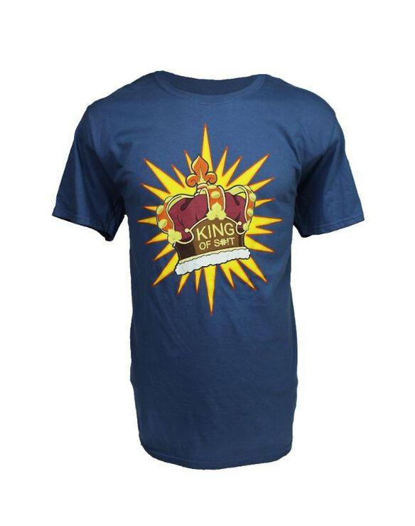 Rick & Morty King of Shit T-Shirt