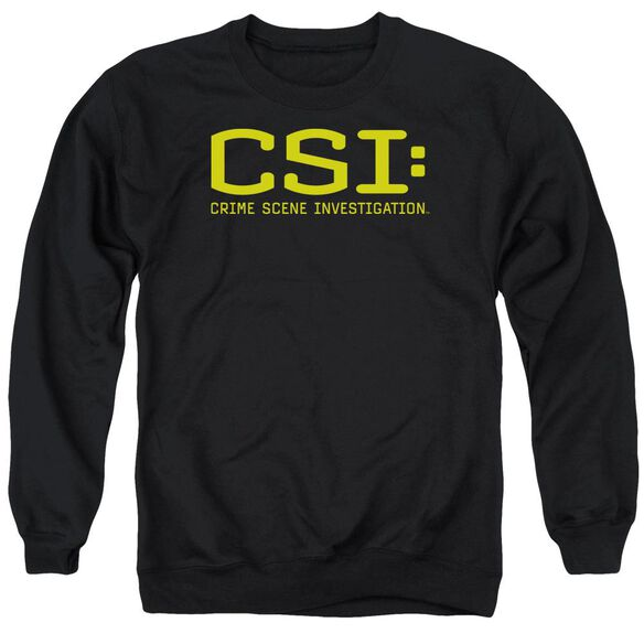 Csi Logo Adult Crewneck Sweatshirt