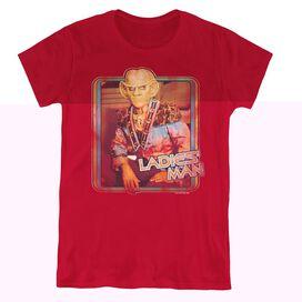 STAR TREK LADIES MAN - S/S WOMENS TEE - CARDINAL T-Shirt