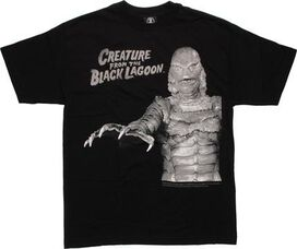 Creature from the Black Lagoon Grayscale T-Shirt