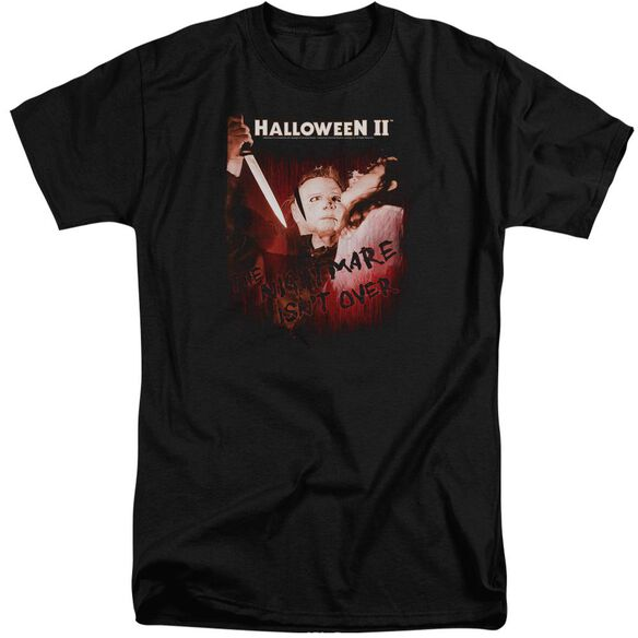 Halloween Ii Nightmare Short Sleeve Adult Tall T-Shirt