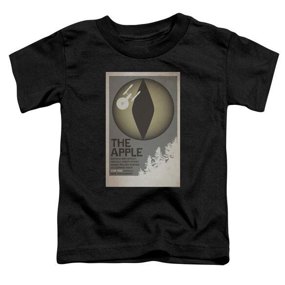Star Trek Tos Episode 34 Short Sleeve Toddler Tee Black Sm T-Shirt