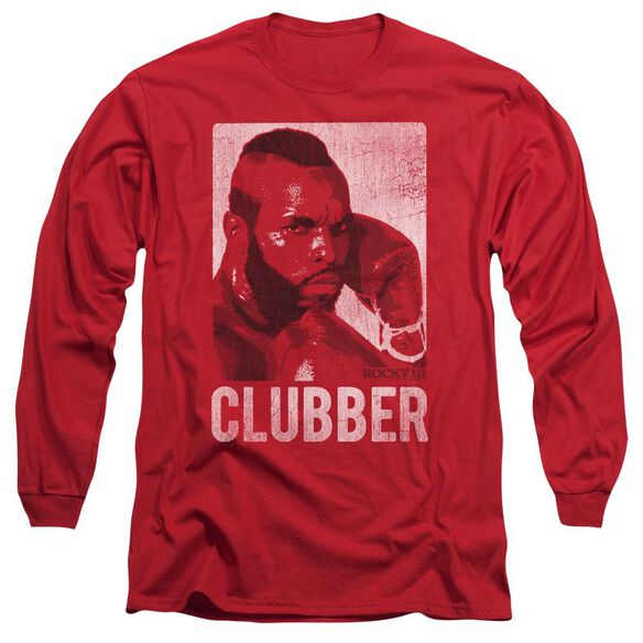 Rocky Iii Clubber Lang Long Sleeve Adult T-Shirt