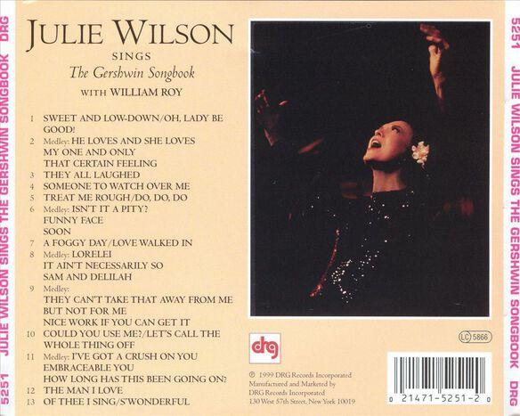 Julie Wilson Sings Ger399