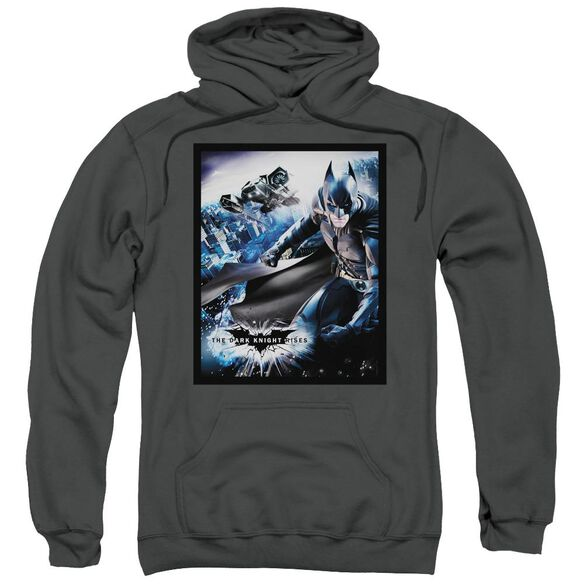 Dark Knight Rises Batwing Rises Adult Pull Over Hoodie