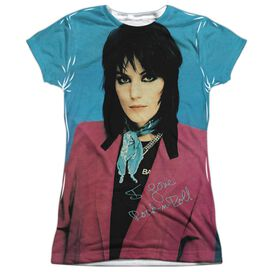 Joan Jett I Love Rock And Roll Short Sleeve Junior Poly Crew T-Shirt