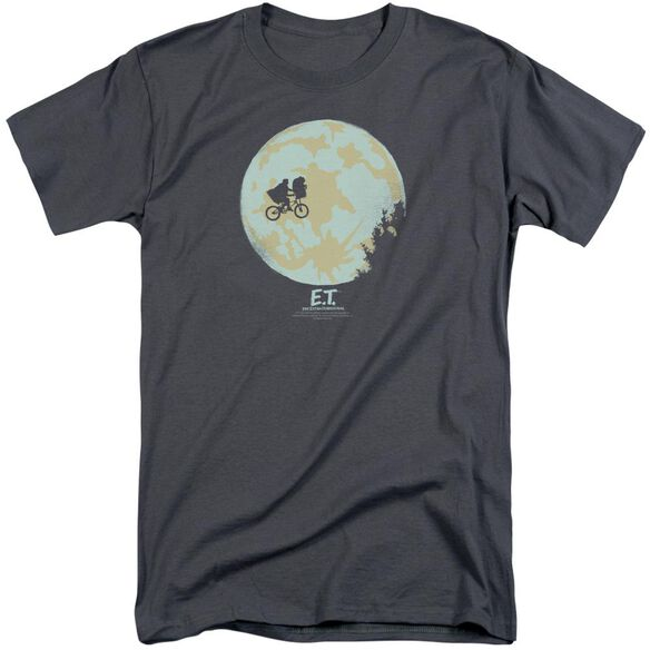 Et In The Moon Short Sleeve Adult Tall T-Shirt