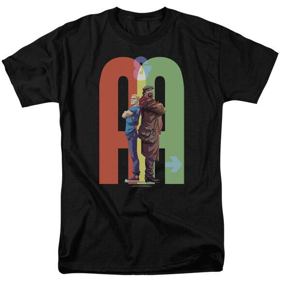 Archer & Armstrong Back To Bak Short Sleeve Adult T-Shirt