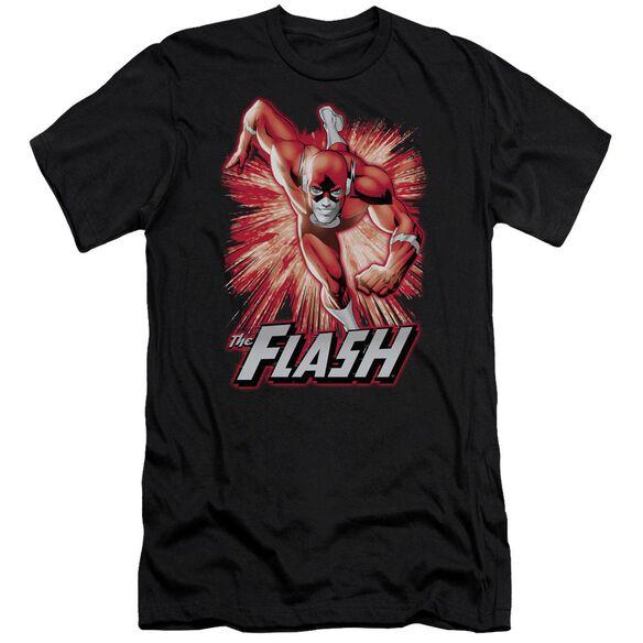 Jla Flash Red & Gray Short Sleeve Adult T-Shirt