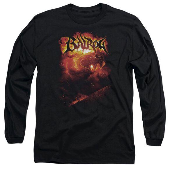 Lor Balrog Long Sleeve Adult T-Shirt