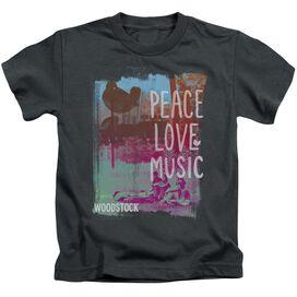 Woodstock Plm Short Sleeve Juvenile T-Shirt
