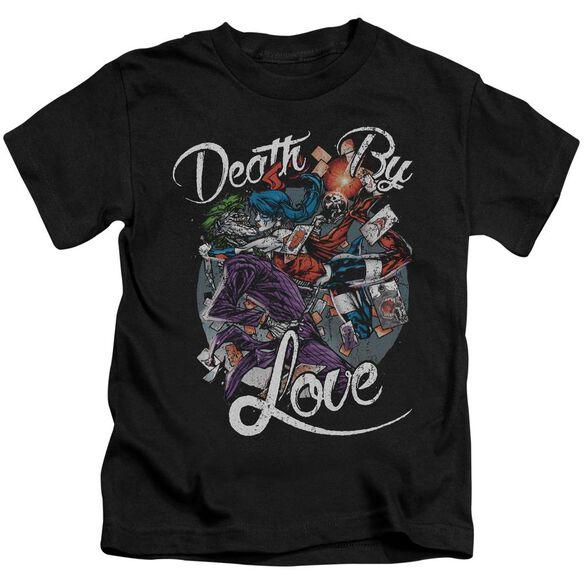 Batman Death By Love Short Sleeve Juvenile T-Shirt