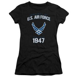 Air Force Property Of Short Sleeve Junior Sheer T-Shirt