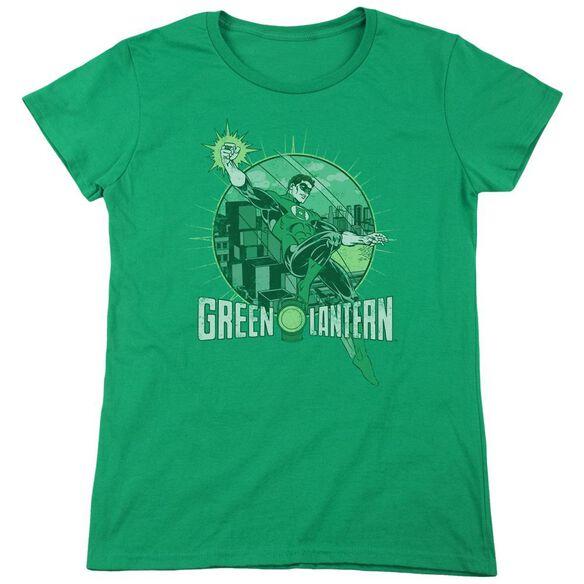 Dc City Power Short Sleeve Womens Tee Kelly T-Shirt