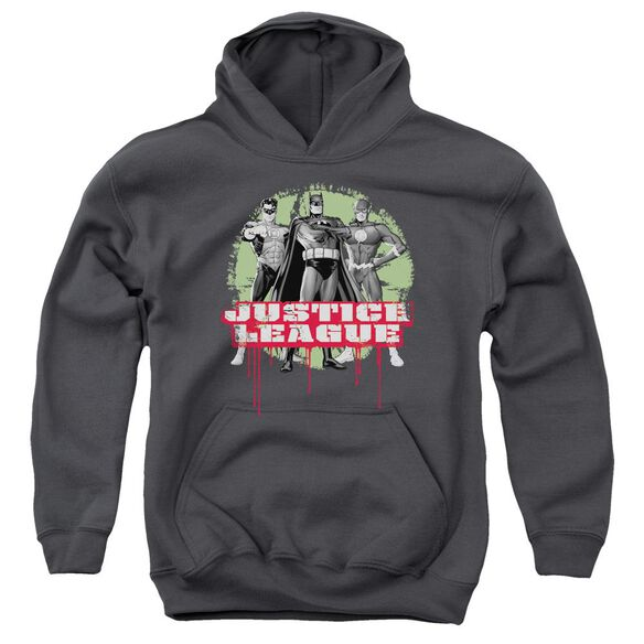 Jla Jla Trio Youth Pull Over Hoodie