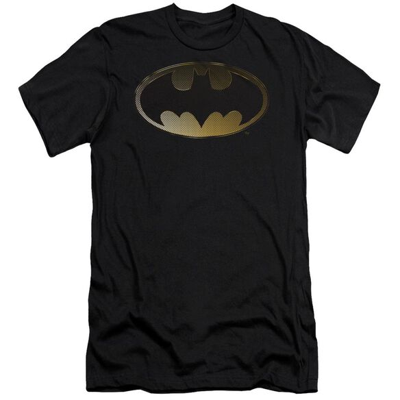 Batman Halftone Bat Short Sleeve Adult T-Shirt