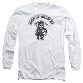 Sons Of Anarchy Bloody Sickle Long Sleeve Adult T-Shirt