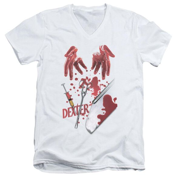 Dexter Tools Of The Trade Short Sleeve Adult V Neck T-Shirt