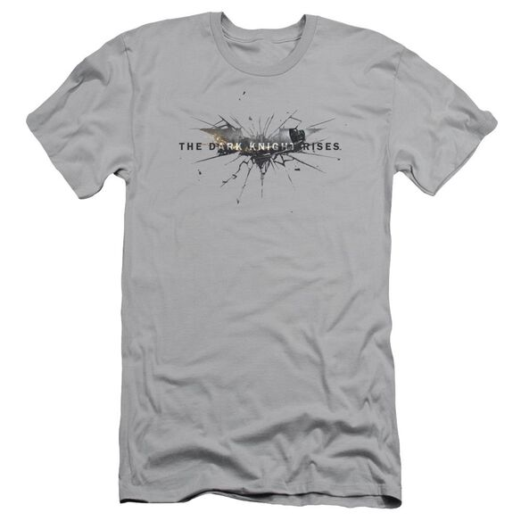Dark Knight Rises Rise Logo Short Sleeve Adult T-Shirt