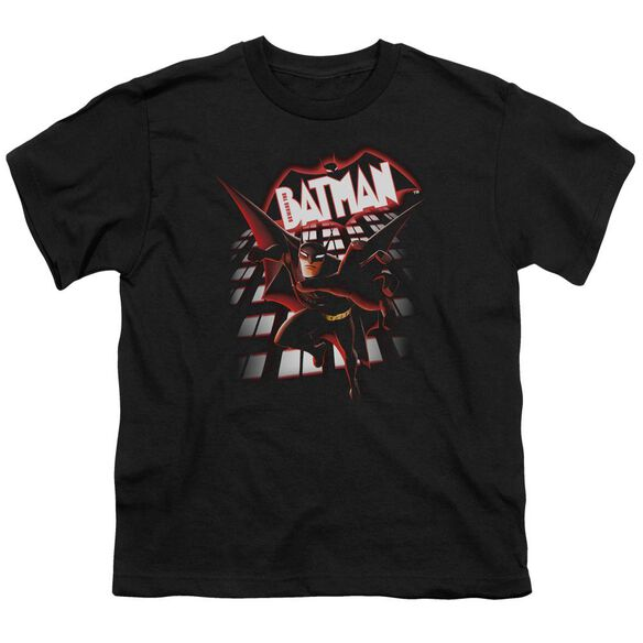 Beware The Batman From The Top Short Sleeve Youth T-Shirt