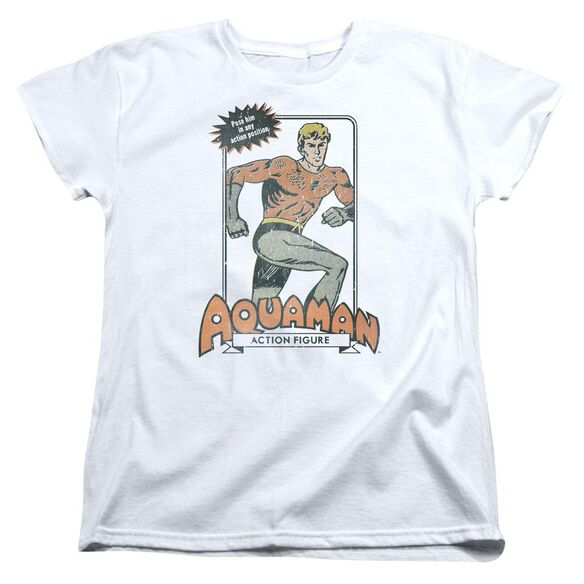 Dc Am Action Figure Short Sleeve Womens Tee T-Shirt