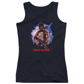 Rambo:First Blood Poster Juniors Tank Top
