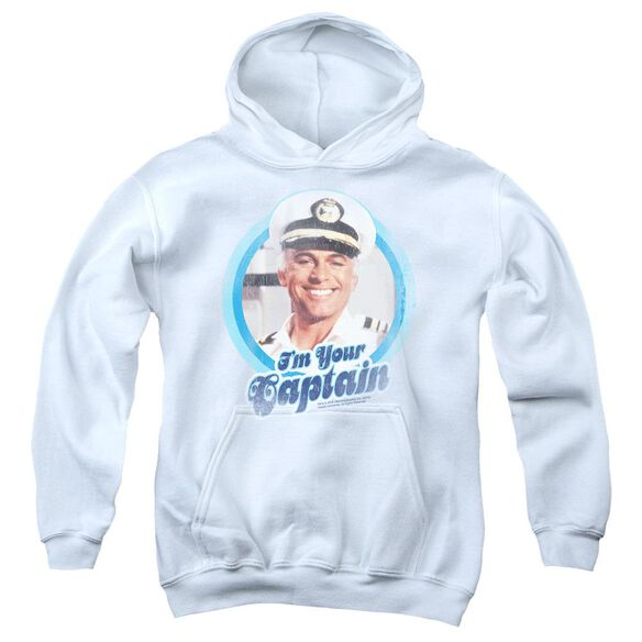 Love Boat I'm Your Captain Youth Pull Over Hoodie