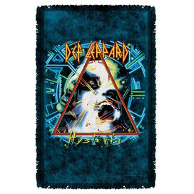 Def Leppard Hysteria Cover Woven Throw