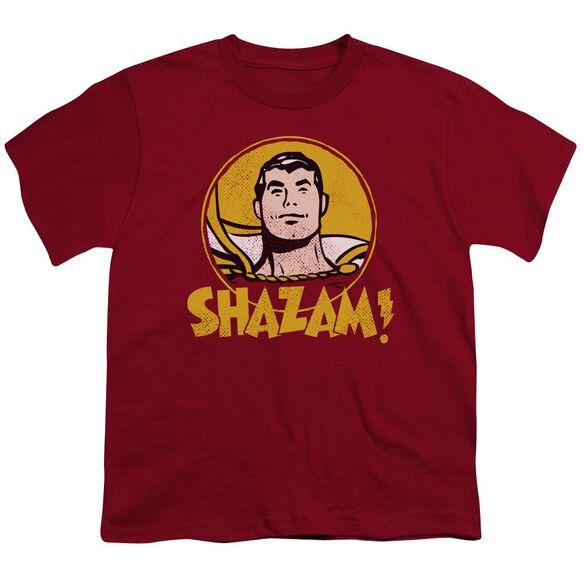 Dc Shazam Circle Short Sleeve Youth T-Shirt