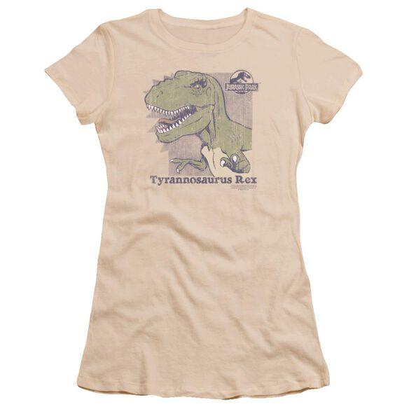 Jurassic Park Retro Rex Premium Bella Junior Sheer Jersey