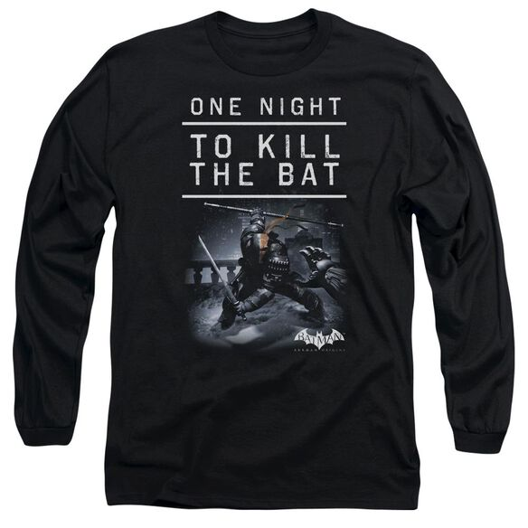 Batman Arkham Origins One Night Long Sleeve Adult T-Shirt