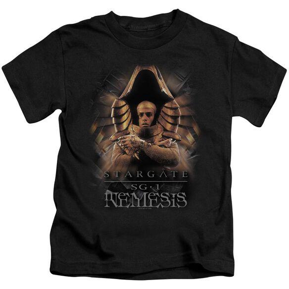 Sg1 Nemesis Short Sleeve Juvenile Black T-Shirt