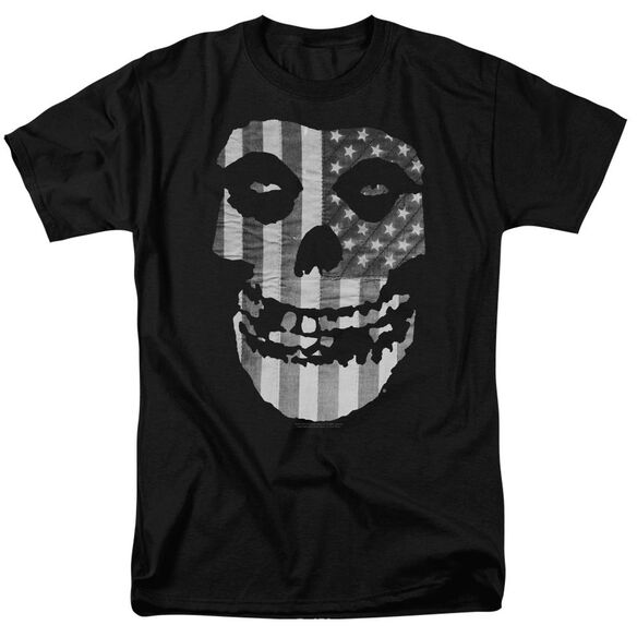 Misfits Fiend Flag Short Sleeve Adult T-Shirt