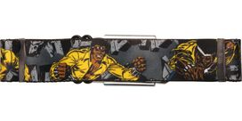Luke Cage Action Poses Seatbelt Belt