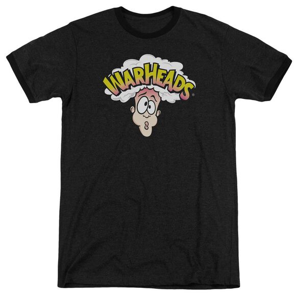 Warheads Logo Adult Heather Ringer