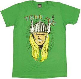 Thor Head T-Shirt Sheer