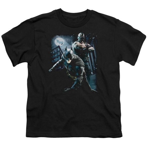 Dark Knight Rises Battlefield Gotham Short Sleeve Youth T-Shirt