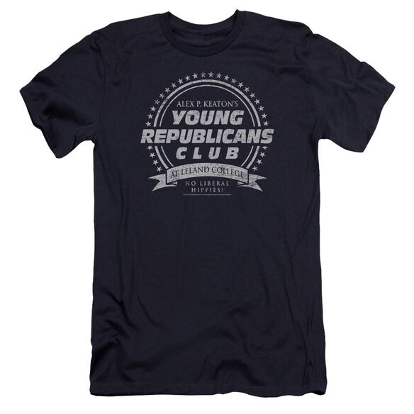 Family Ties Young Republicans Club-premuim Canvas Adult Slim