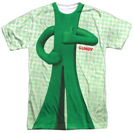 Gumby Gumb Me Sub Short Sleeve Adult Poly Crew T-Shirt