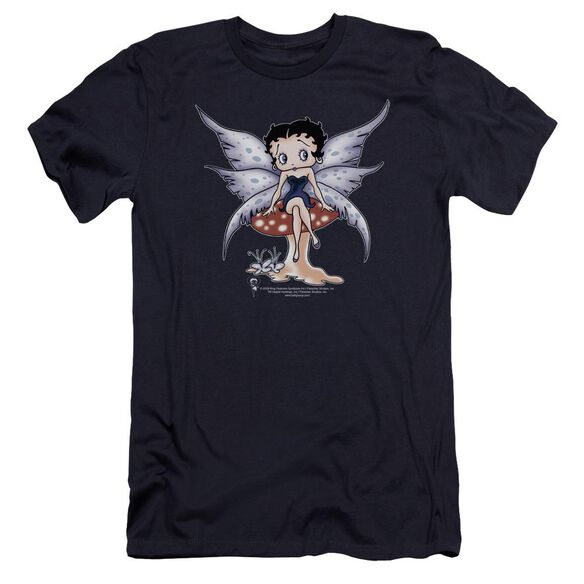 Betty Boop Mushroom Fairy Premuim Canvas Adult Slim Fit