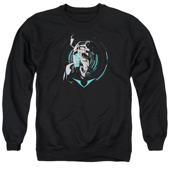 Voltron Defender Noir Adult Crewneck Sweatshirt