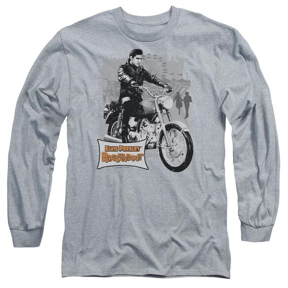 Elvis Presley Roustabout Poster Long Sleeve Adult Athletic T-Shirt