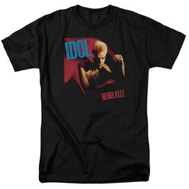 Billy Idol Rebel Yell Short Sleeve Adult T-Shirt