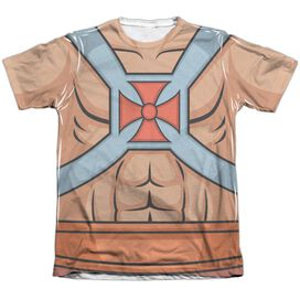 Masters Of The Universe He Man Costumes Adult Poly Cotton Short Sleeve Tee T-Shirt